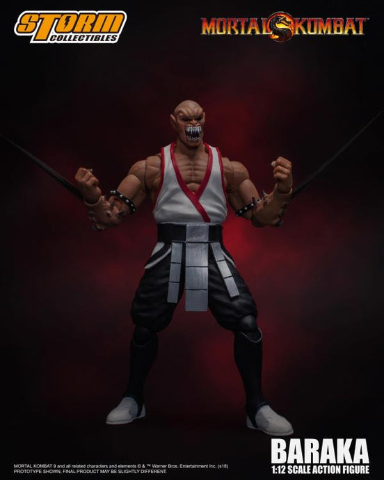 Storm Collectibles Mortal Kombat VS Series Baraka 1/12 Scale Figure