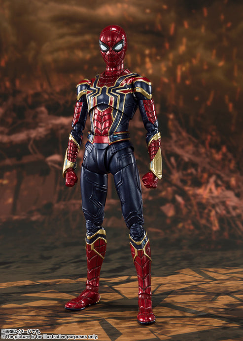 "S.H.Figuarts Avengers: Endgame Iron Spider ""Final Battle"" Edition Pre-Order*"