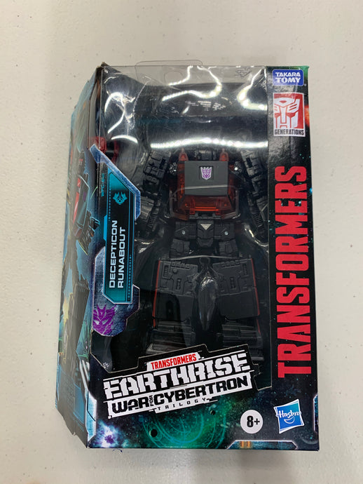 Pre-Owned* Transformers War For Cybertron Runabout Exclusive - Dented Box