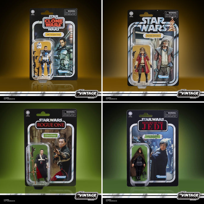 Star Wars: The Vintage Collection 2020 Wave 2 4-Pack