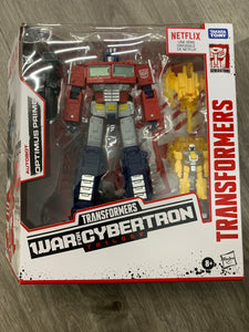Pre-Owned* Transformers Netflix War For Cybertron Trilogy Autobot Optimus Prime Exclusive