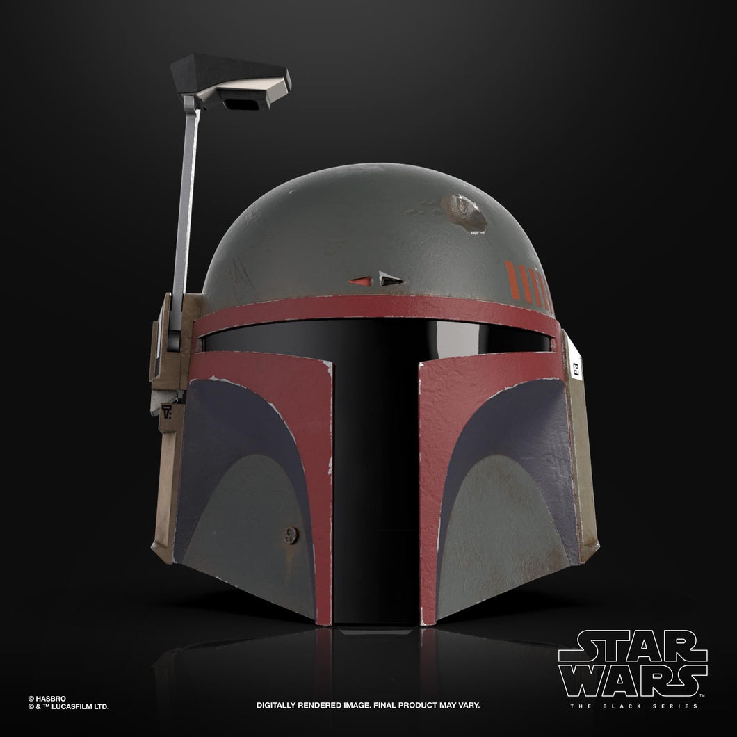 Star Wars: The Black Series Boba Fett (The Mandalorian) 1:1 Scale Wearable Helmet (Electronic) Pre-Order*