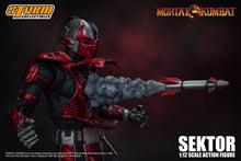 Load image into Gallery viewer, Storm Collectibles Mortal Kombat 3 VS Series Sektor 1/12 Scale Figure Pre-Order*
