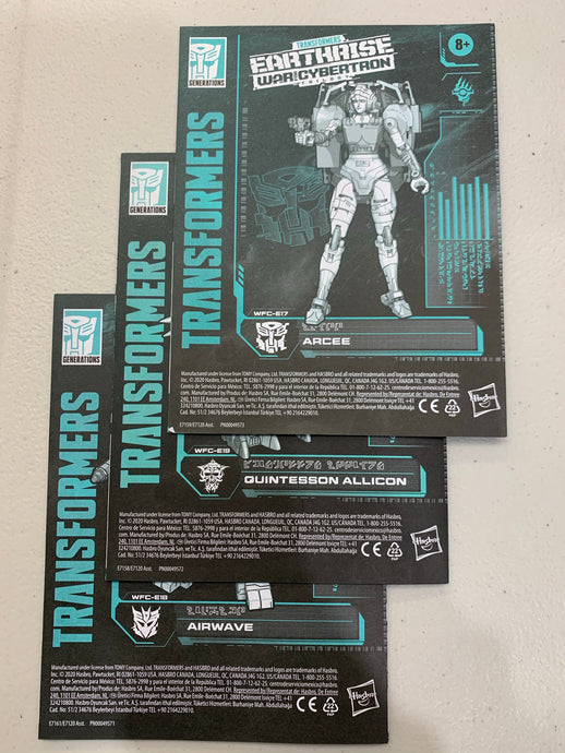 Pre-Owned* Transformers War For Cybertron: Earthrise - Deluxe Class Loose/Complete
