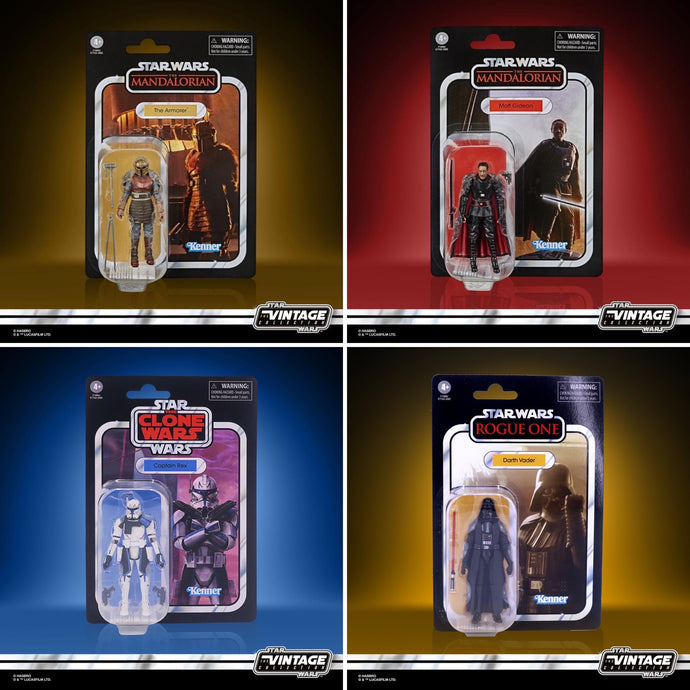 Star Wars: The Vintage Collection 2020 Wave 4 4-Pack Pre-Order*