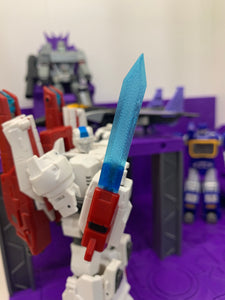 3D Printed Energy Blades for Jetfire/Cygnus