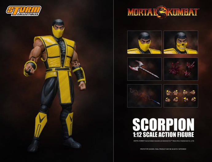 Storm Collectibles Mortal Kombat 3 VS Series Scorpion 1/12 Scale Figure