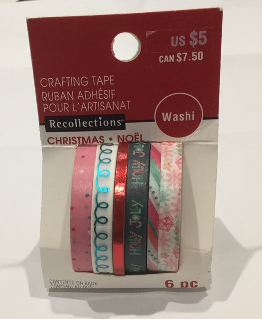 Recollections Washi Tape -Christmas .Noel