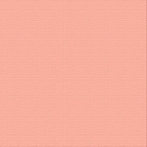 12x12 Cardstock - Coral Reef (250gsm)