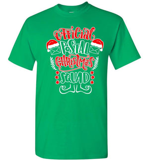 Postal Worker Tees Christmas Unisex T-Shirt / Irish Green / S Christmas - Official Postal Christmas Squad