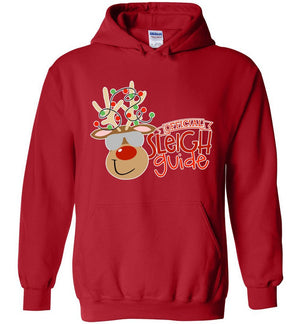Postal Worker Tees Christmas Hoodie / Red / S Christmas - Official Sleigh Guide