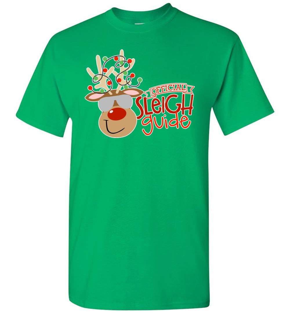 Postal Worker Tees Christmas Unisex T-Shirt / Irish Green / S Christmas - Official Sleigh Guide
