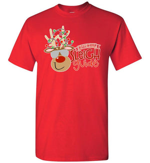 Postal Worker Tees Christmas Unisex T-Shirt / Red / S Christmas - Official Sleigh Guide