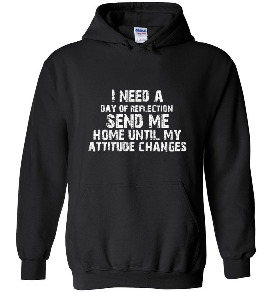 Postal Worker Tees Hoodies Black / S Day of Reflection Hoodie