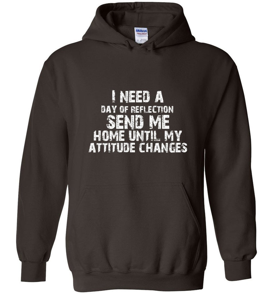 Postal Worker Tees Hoodies Dark Chocolate / S Day of Reflection Hoodie