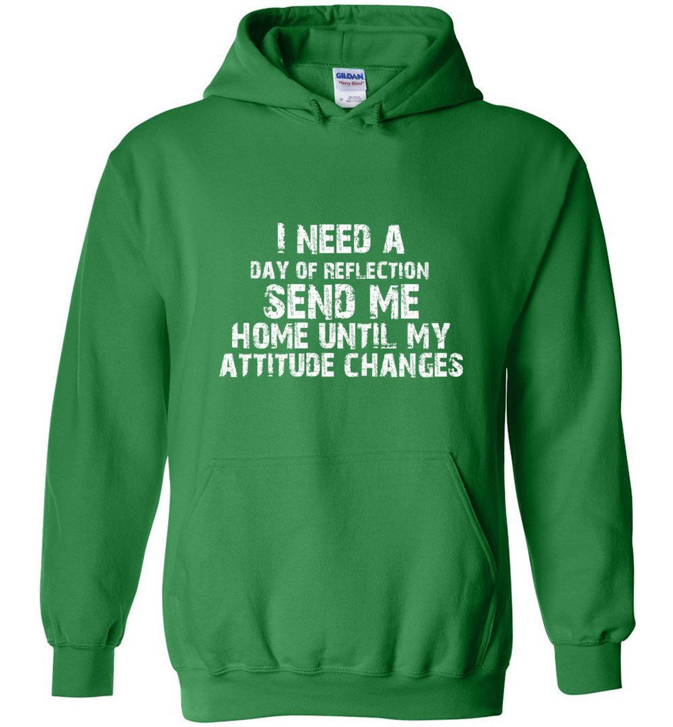 Postal Worker Tees Hoodies Irish Green / S Day of Reflection Hoodie