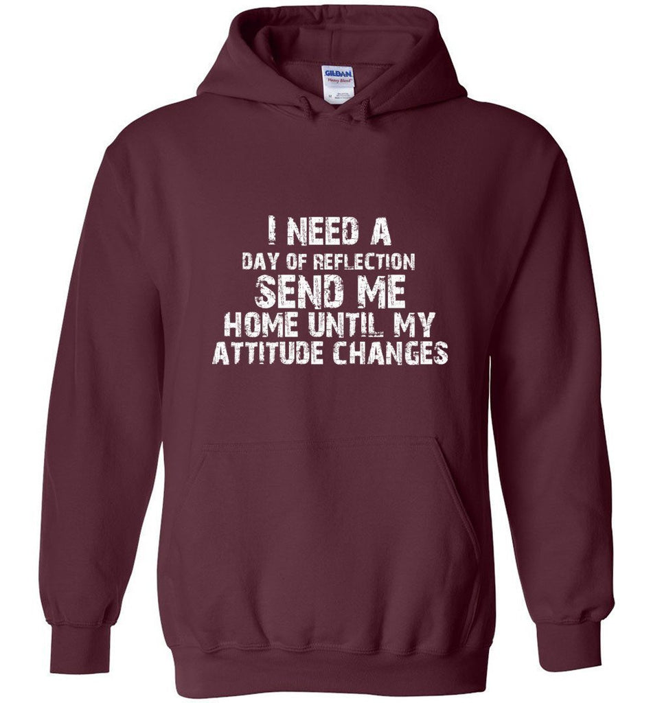 Postal Worker Tees Hoodies Maroon / S Day of Reflection Hoodie
