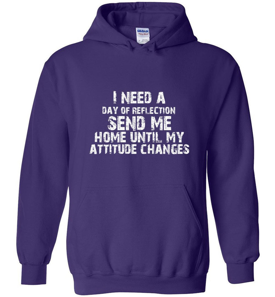 Postal Worker Tees Hoodies Purple / S Day of Reflection Hoodie