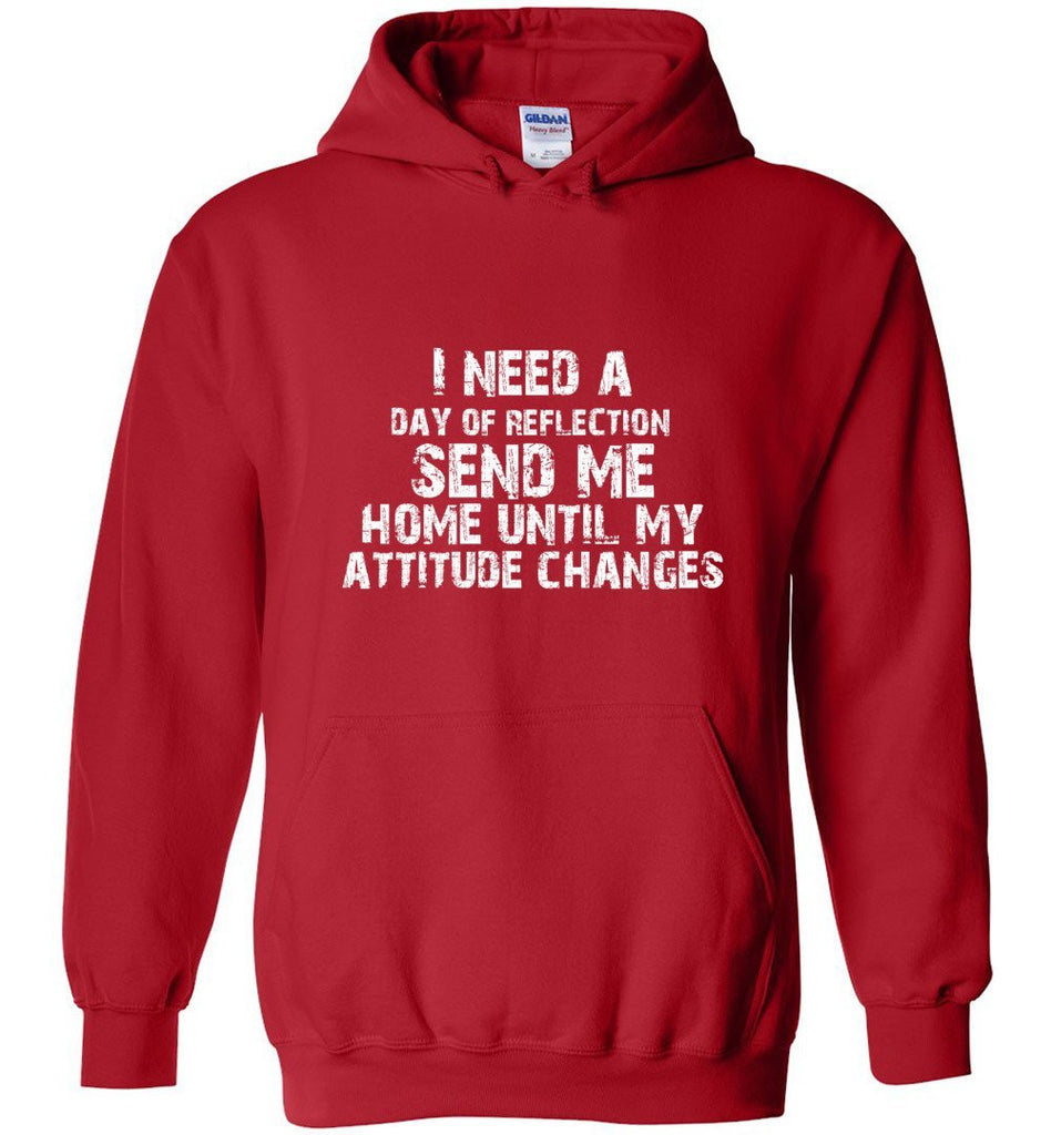 Postal Worker Tees Hoodies Red / S Day of Reflection Hoodie