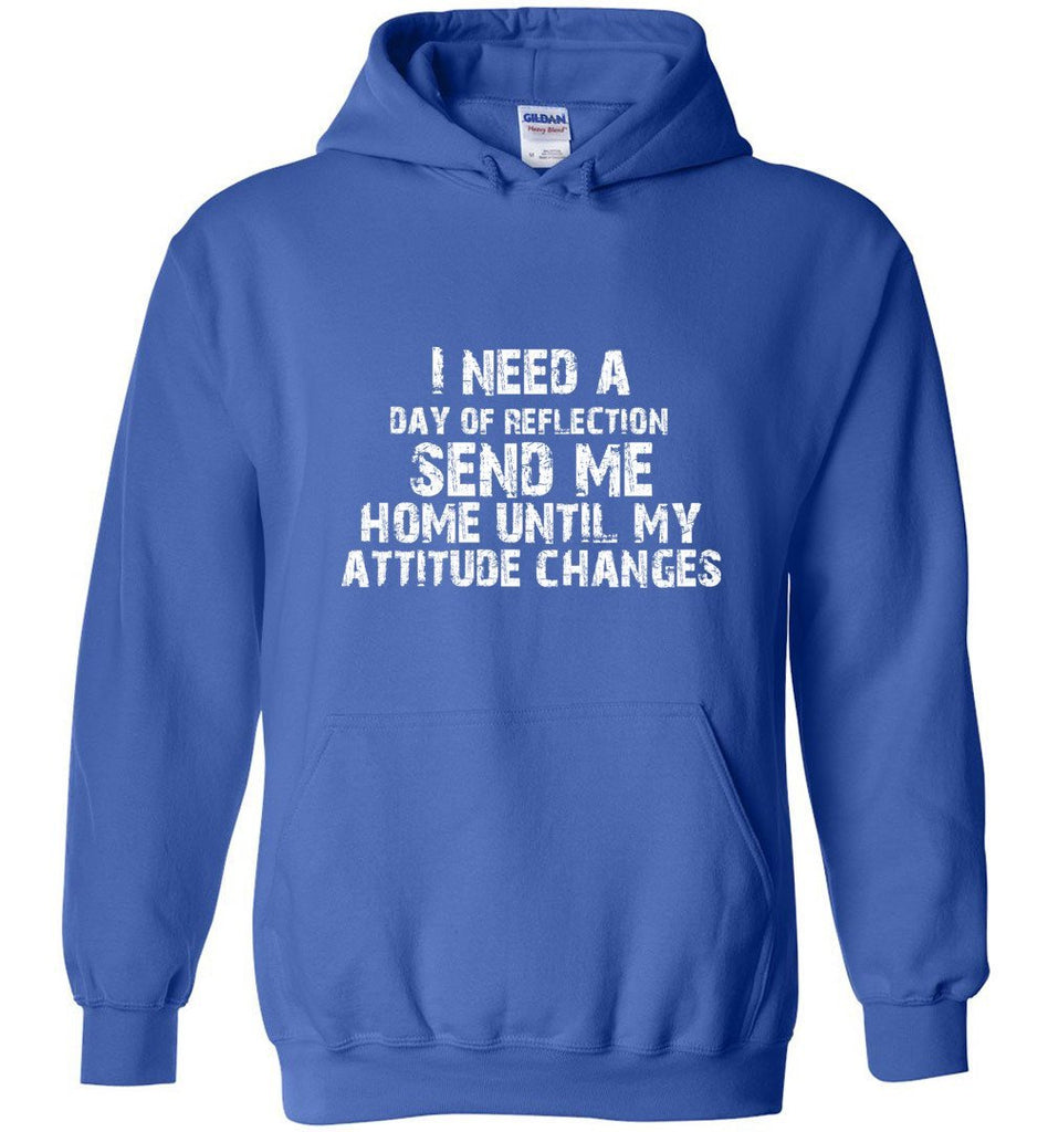 Postal Worker Tees Hoodies Royal Blue / S Day of Reflection Hoodie