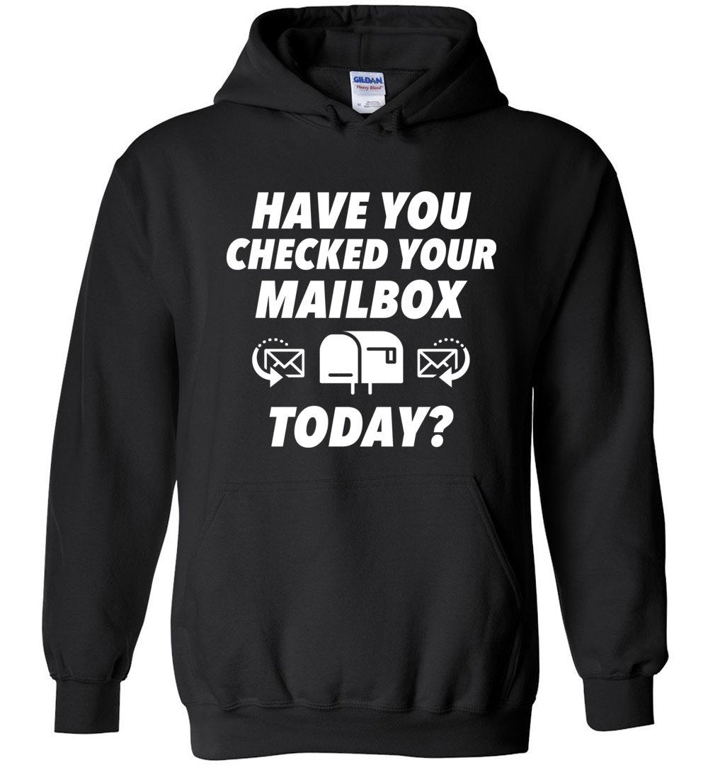 Postal Worker Tees Hoodies Black / S Have you checked your mailbox Hoodie