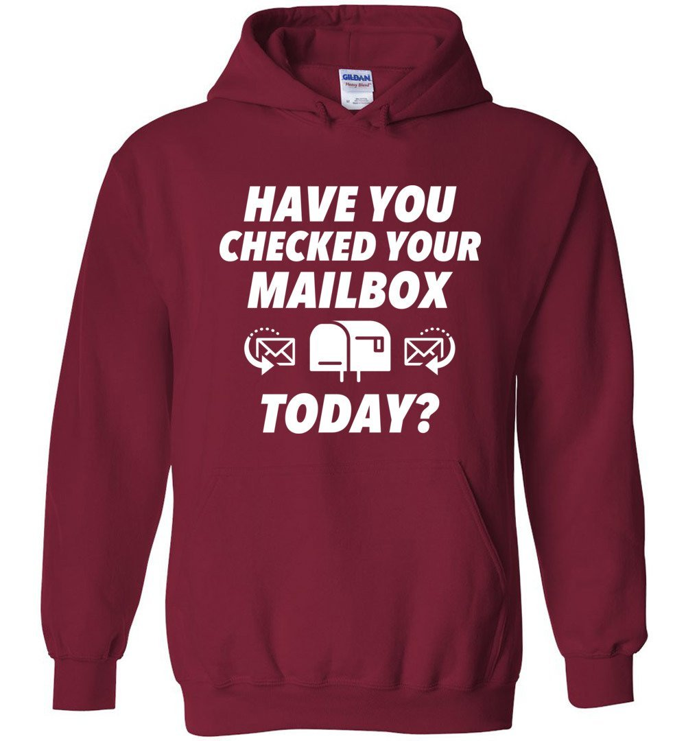 Postal Worker Tees Hoodies Cardinal Red / S Have you checked your mailbox Hoodie