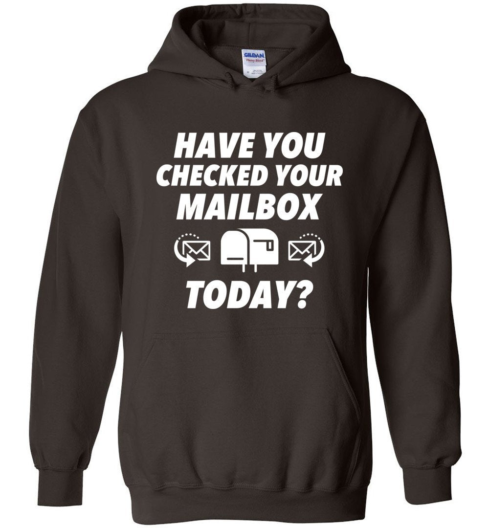 Postal Worker Tees Hoodies Dark Chocolate / S Have you checked your mailbox Hoodie