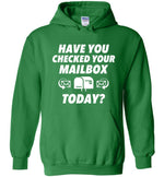 Postal Worker Tees Hoodies Irish Green / S Have you checked your mailbox Hoodie