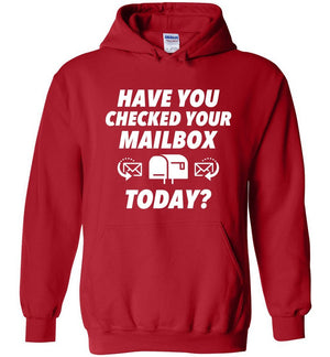Postal Worker Tees Hoodies Red / S Have you checked your mailbox Hoodie