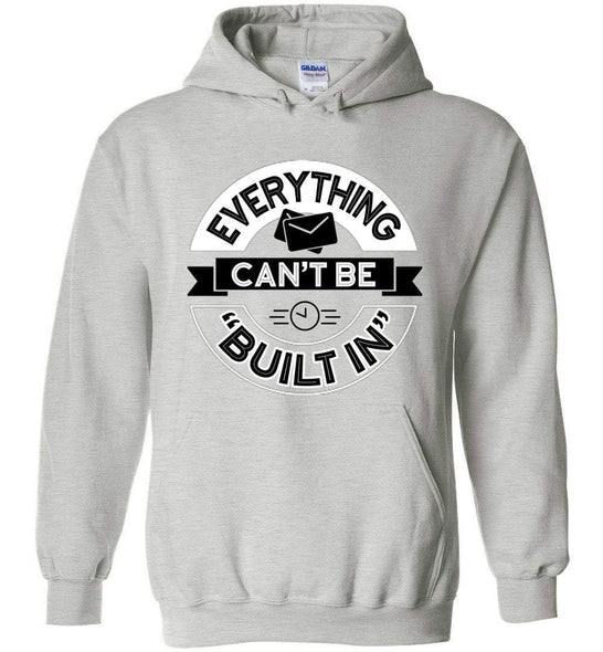 Postal Worker Tees Hoodies Ash / S Rural Carrier Everything can't be built in Hoodie