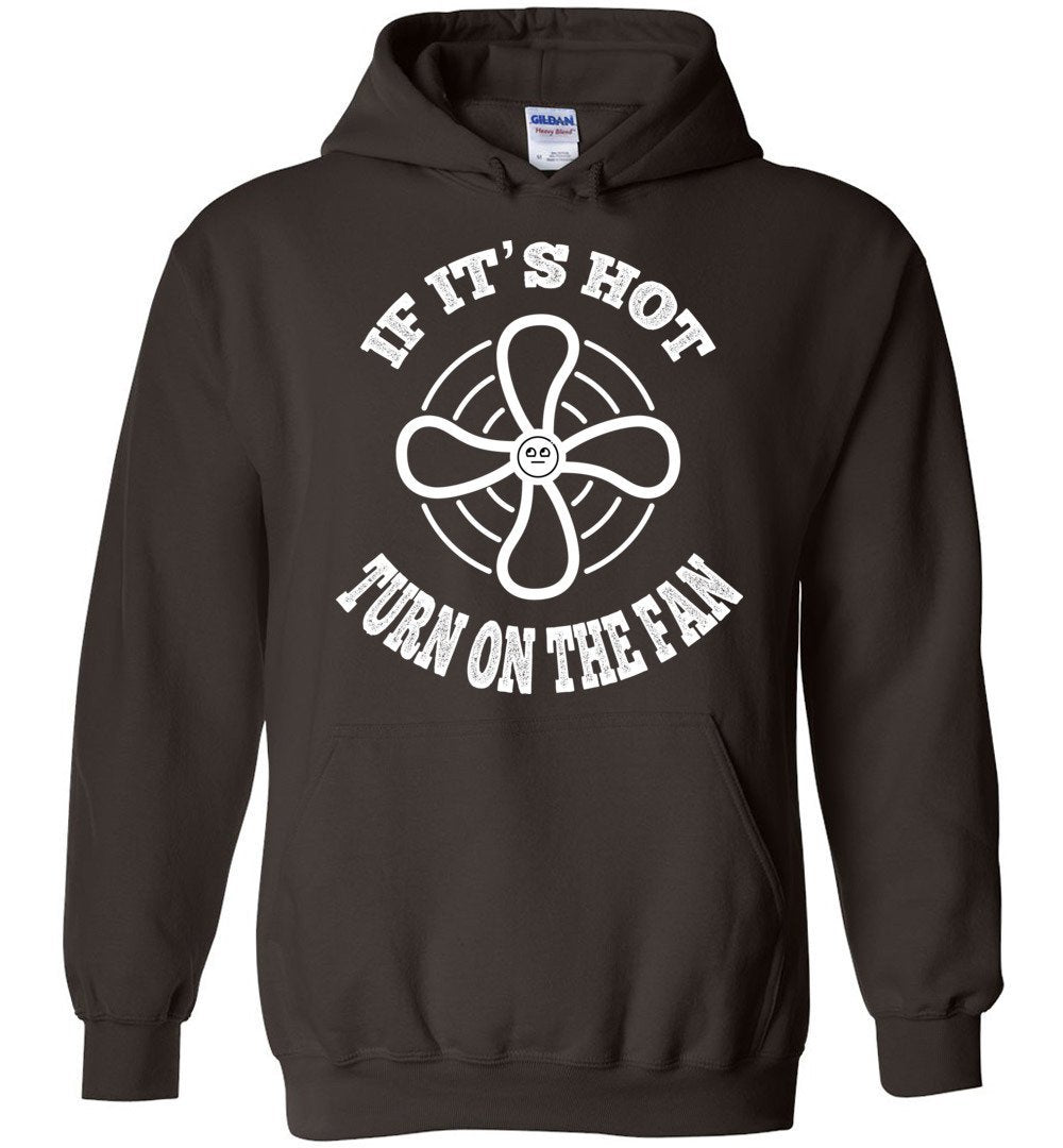Postal Worker Tees Hoodies Dark Chocolate / S Scanner message - If it's hot Hoodie
