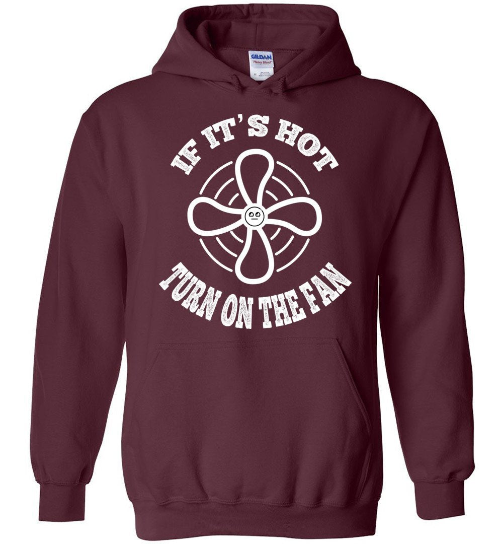 Postal Worker Tees Hoodies Maroon / S Scanner message - If it's hot Hoodie