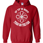 Postal Worker Tees Hoodies Red / S Scanner message - If it's hot Hoodie