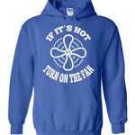 Postal Worker Tees Hoodies Royal Blue / S Scanner message - If it's hot Hoodie