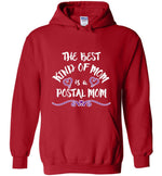 Postal Worker Tees Hoodies Red / S The best kind of mom Hoodie