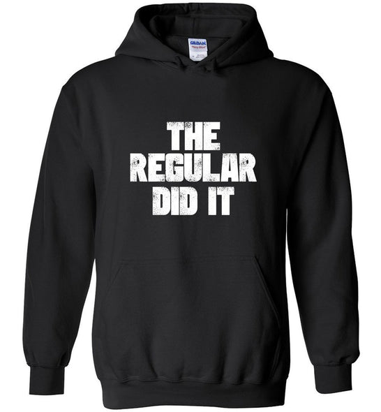 Postal Worker Tees Hoodies Black / S The regular did it Hoodie