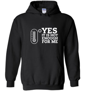 Postal Worker Tees Hoodies Black / S Yes, it's hot enough for me Hustling Hoodie