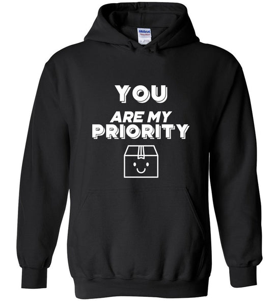 Postal Worker Tees Hoodies Black / S You are my priority Hoodie