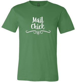 Postal Worker Tees Unisex Tshirt Leaf / S Decorative Mail Chick Tshirt