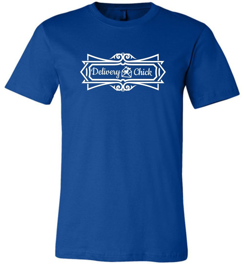 Postal Worker Tees Unisex Tshirt True Royal / S Delivery Chick Decorative Tshirt