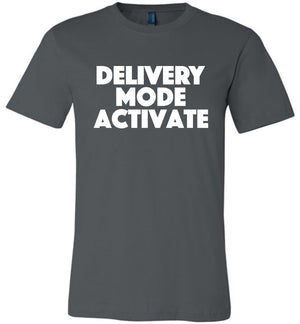 Postal Worker Tees Unisex Tshirt Asphalt / S Delivery Mode activate Tshirt