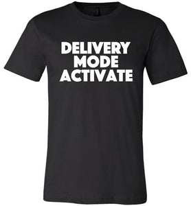 Postal Worker Tees Unisex Tshirt Black / S Delivery Mode activate Tshirt