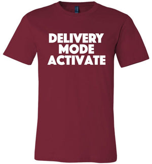 Postal Worker Tees Unisex Tshirt Cardinal / S Delivery Mode activate Tshirt