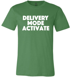 Postal Worker Tees Unisex Tshirt Leaf / S Delivery Mode activate Tshirt