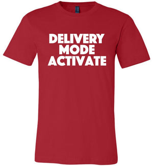 Postal Worker Tees Unisex Tshirt Red / S Delivery Mode activate Tshirt