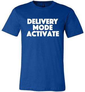 Postal Worker Tees Unisex Tshirt True Royal / S Delivery Mode activate Tshirt