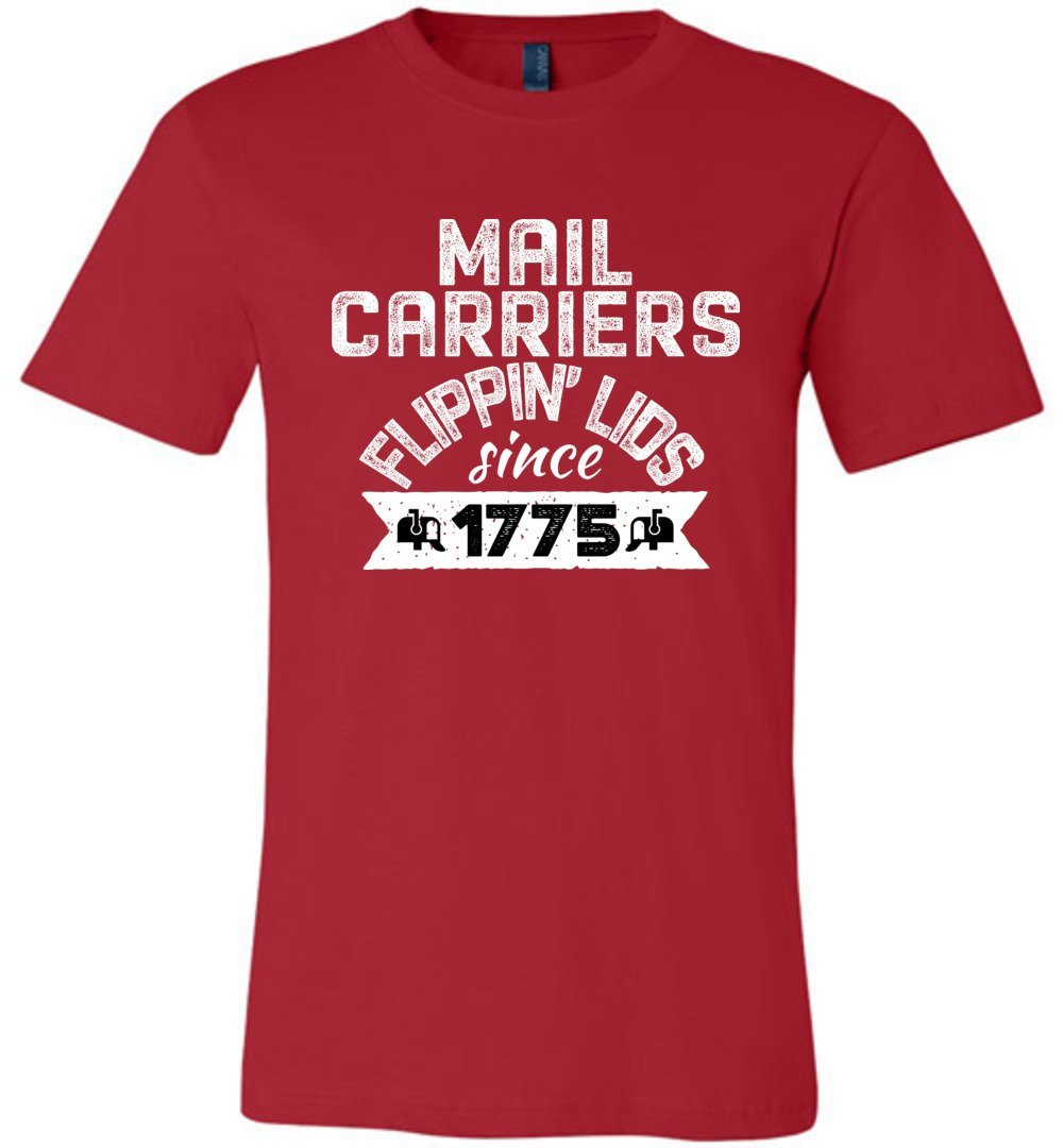 Postal Worker Tees Unisex Tshirt Red / S Flippin' lids since 1775 Tshirt