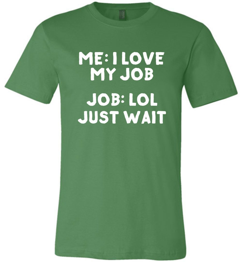 Postal Worker Tees Unisex Tshirt Leaf / S I love my job Tshirt