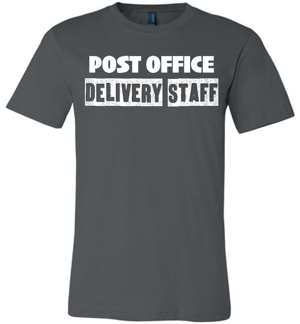 Postal Worker Tees Unisex Tshirt Asphalt / S Post office delivery staff Tshirt