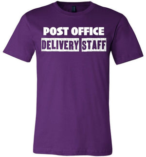 Postal Worker Tees Unisex Tshirt Team Purple / S Post office delivery staff Tshirt